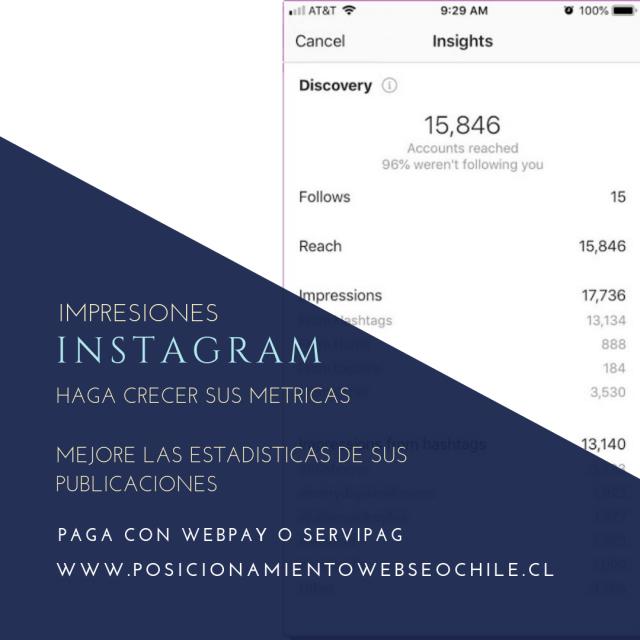comprar impresiones instagram