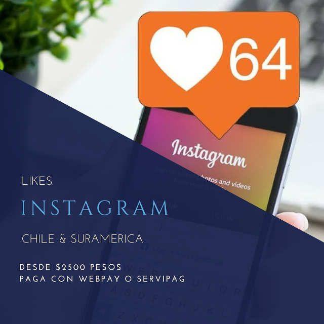 Likes instagram chile y suramerica