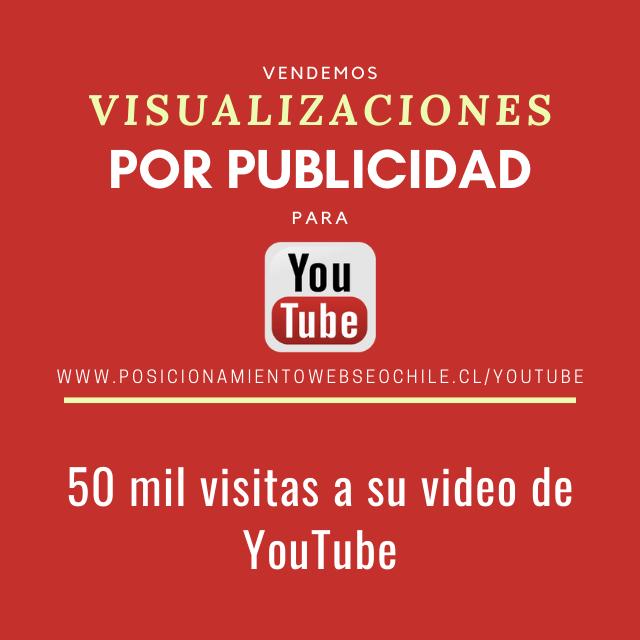 visualizaciones con por publicidad youtube