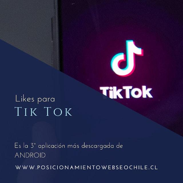Comprar likes Tik Tok