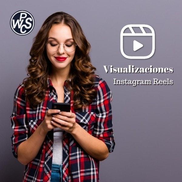 visualizaciones instagram reels
