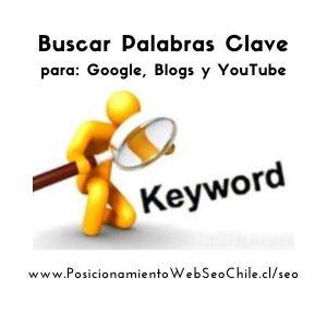 Buscar Palabras Clave para Google