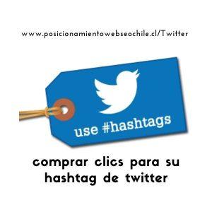 comprar clic para hashtag de twitter